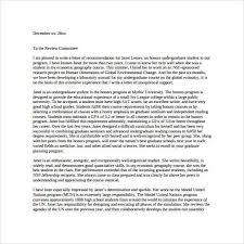 Sample Recommendation Letter For Graduate Student Unique Letter Of