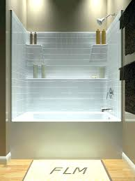 one piece tub shower combo and in bathtub plans 9 modern best ideas on intended surround