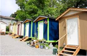 tiny houses for the homeless. Wonderful The A Tiny Village In Seattle Was The Inspiration For St Andrewu0027s Plan  And Tiny Houses For The Homeless