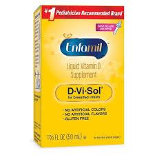 Enfamil D-<b>Vi</b>-Sol Infant <b>Vitamin D</b> Dietary Supplement Liquid Drops ...