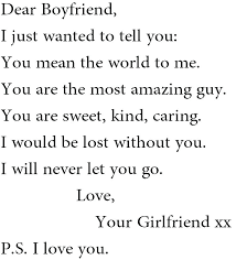 Letter To Your Girlfriend What To Write In Open When Letters Google Search Ideas Love