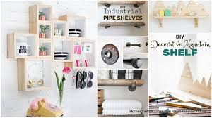 19 Beautiful Easy Diy Shelves To Build At Home Homesthetics Making Shelves Diy