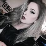 Silver hair girl tumblr pictures