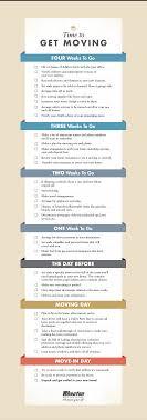 Moving Checklist 4 Week Countdown Wheaton
