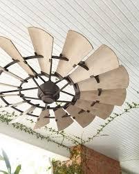 outside ceiling fans. Windmill Bronze 60\ Outside Ceiling Fans F