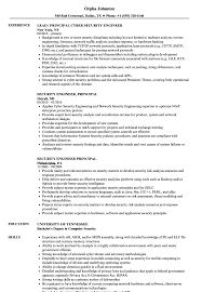 Security Engineer Principal Resume Samples Velvet Jobs