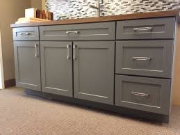 Kitchen Cabinets Door Styles Armstrong Cabinets Trevant 5 Piece Door Style In The Slate Painted