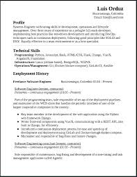 Software Developer Resume Format Example Best Of Engineer Template Extraordinary Software Developer Resume Format