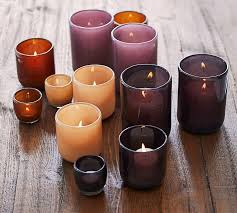 modern glass votive candle holders