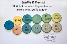 Premo Color Mixing Chart New Color Tuesday Its All About Copper Synssculpeyblog