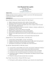 Dietary Technician Resume