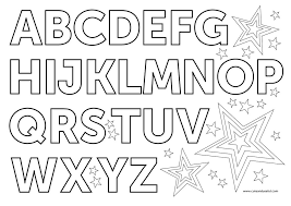 One of the earliest and most important things kids learn is the alphabet. English Alphabet Coloring Pages Judy Havrilla