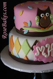 Living Room Decorating Ideas Baby Shower Cake Sugar DecorationsOwl Baby Shower Cakes For A Girl