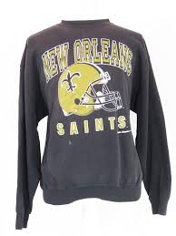 Sweater Crewneck Orleans Vintage Saints New