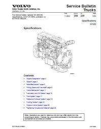 volvo d12 specs bolt torques and manuals volvo d12d specifications manual p1