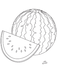 Small Picture Watery watermelon coloring pages Download Free Watery watermelon