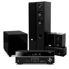 yamaha surround sound. 5.1 surround sound system taga 306 speakers + sherwood subwoofer yamaha amp