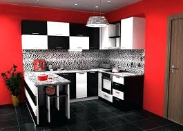 black and red kitchen designs. Red And Black Kitchen Decor Modern White With . Designs R