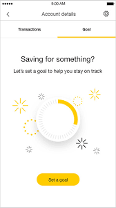 Set And Track A Savings Goal Goal Tracker Commbank