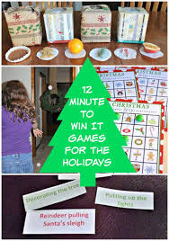 12 Minute to Win It Holiday Party Games | Featured with 29 Awesome Classroom  Christmas Party