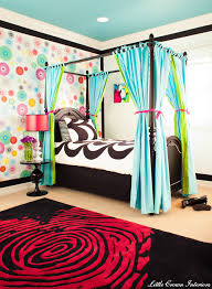 Funky Modern Colorful Girl's Bedroom