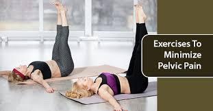 exercises to minimize pelvic pain