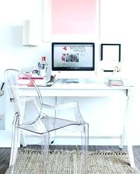 clear office desk. Acrylic Desk Chair Awesome Clear Pink Office With Wheels Annexe RC Willey Pertaining To 15
