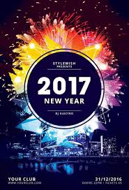 New Year Flyers Template New Year Flyer By Stylewish Buy Psd Layout 9 Party