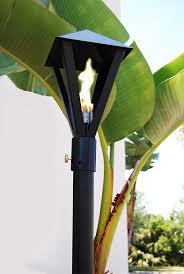 big kahuna gaslight propane gas tiki torch portable