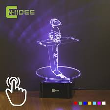Colorful Led Night Light B Wing Star Wars Lamp As Home Decor Desk Table  Bedroom