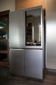 lg refrigerator instaview. the time had come to retire my 15 year old fridge and as fate would have it, i got acquainted with lg signature\u0027s uber-slick stainless steel at their lg refrigerator instaview r