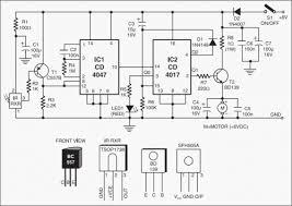 infrared toy car motor controller cd4017 circuit diagram world figure 1 circuit diagram