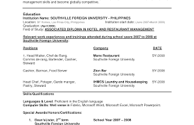 Curriculum Vitae Samples For Job Application And Resume Sample ...