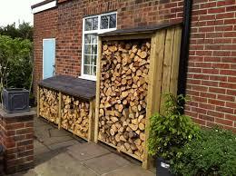 9 DIY Outdoor Firewood Racks