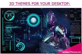 Themes Downloading Free Windows 7 3d Themes Free Iron Man Jarvis Ui