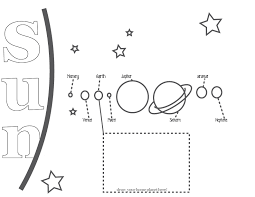Solar System Coloring Worksheets (page 2) - Pics about space