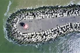 Breakwater Design Ppt Breakwaters Revetments And Marine Structures Cdr