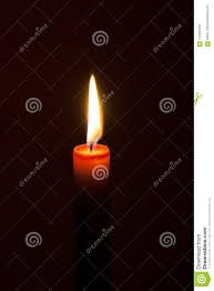 Candle Light Condolence A Burning Candle At Night Symbol Of Life Love And Light
