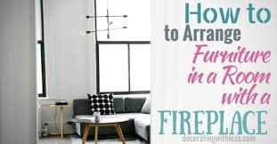 fireplace furniture arrangement. How To Arrange Furniture In A Living Room With Fireplace Arrangement N