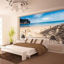 Poster Wandbild Tapeten Fototapete Wasser Meer Strand Sandstrand