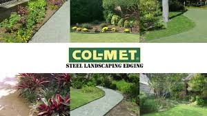 garden metal edging for beds decorandscapeowesawn and col met steelandscaping edger