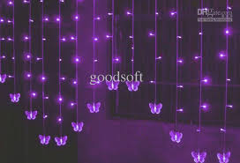 lighting decoration for wedding. Butterfly Curtain Led Light String Wedding Lights Decorative Brown On From Goodsoft, $29.4| Dhgate.Com Lighting Decoration For