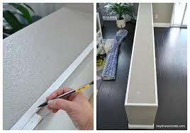 modern molding for half wall cap