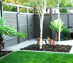 corrugated metal and wood fence corrugated metal fence cost corrugated fence custom privacy fence built out corrugated metal and wood fence