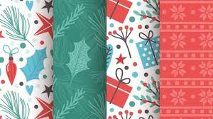 Free Printable Christmas Paper Designs 30 Free Christmas Patterns And Textures For Backgrounds