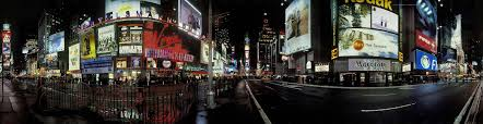 Format definition, New York panorama, backgrounds Priscilla Fleming