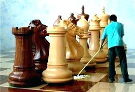 large chess pieces for decoration decor oversized container can hold giant