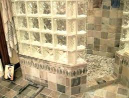 glass block window in bathroom glass blocks of st shower glass block window with vent for