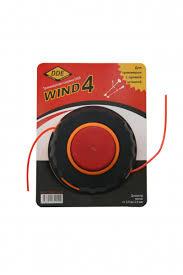 Головка для <b>триммера</b> полуавтоматическая <b>DDE</b> Wind 4 аналог ...