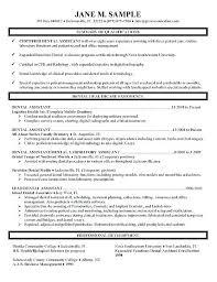 Dental Letters Of Recommendation Resume Dental Hygienist Word Cover